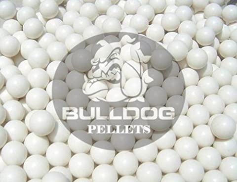 2000 Airsoft BB Pellets 6mm .20g Genuine Bulldog Pro High-Grade Polished BB's White