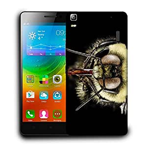 Snoogg Mosquito Designer Protective Back Case Cover For LENOVO A7000 / K3 NOTE