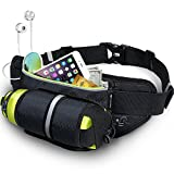 MYCARBON Running Belt with Water Bottle Holder...
