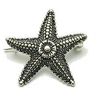 Spilla in argento 925 Stella mar