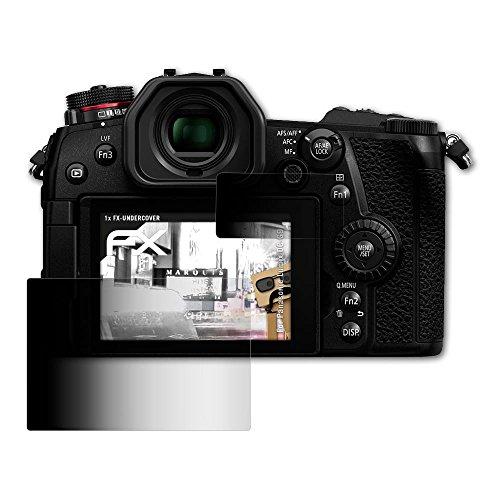 Panasonic Lumix DC-G9 Blickschutzfolie - 1er Set atFoliX FX-Undercover 4-Wege Sichtschutz Blickschutzfilter Displayschutzfolie