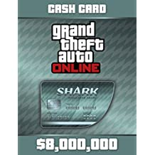 Grand Theft Auto Online | GTA V Megalodon Shark Cash Card | 8,000,000 GTA-Dollars | PC Download Code