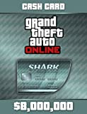Grand Theft Auto Online | GTA V Megalodon Shark Cash Card | 8,000,000 GTA-Dollars | PC Download Code -