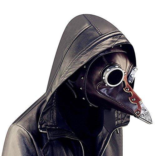 Pest Maske Cosplay Kostüm Erwachsene Lange Schnabel Masken für Halloween Prop Punk Maske