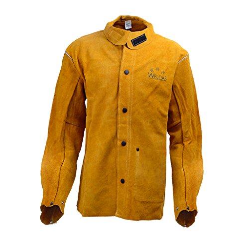 Almencla Rindleder Schweißer Jacke Schutzkleidung Schweißen Mig/Tig - XL