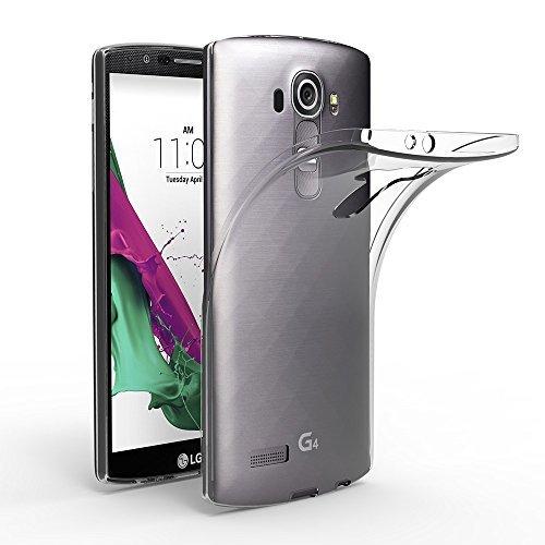 EasyAcc LG G4 Hülle Case Transparent Handyhülle Schutzhülle TPU Crystal Clear