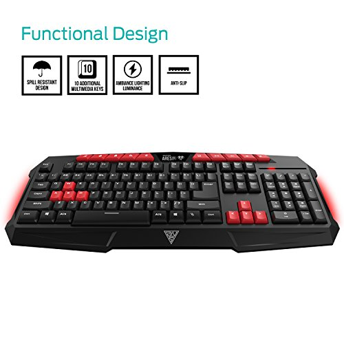 3c39fcfcf02 30% OFF on Gaming Keyboard and Mouse Combo-BlueFinger USB Wired LED ...
