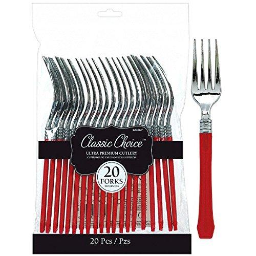 Amscan-436900-40Premium tenedores