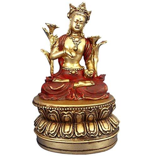 Boite en résine Bouddha
