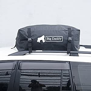 car roof bag cargo bag by big daddy the practical