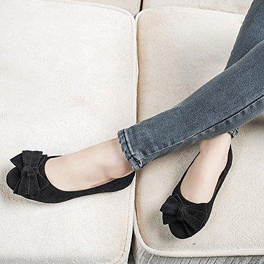 Confortevole ed elegante piatto scarpe donna Appartamenti Punta tonda / punta chiusa / Appartamenti Casual tacco piatto BowknotBlack / blu / giallo / rosa / fuchsia