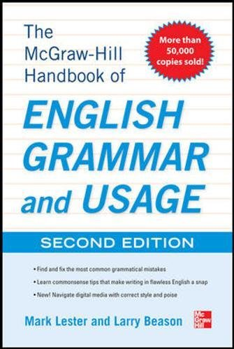 McGraw-Hill Handbook of English Grammar and Usage, 2nd Edition por Mark Lester