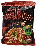 Nong Shim Mr. BIBIM Stir Fried Instantnudeln Kimchi Flavour – Koreanische Nudeln mit Kimchi Geschmack - schnelle Zubereitung – 10er Vorteilspack à 118g