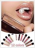 Shage Wasserdichte langlebige flüssige Samt Matte Lippenstift Makeup Lip Gloss Lip (L)