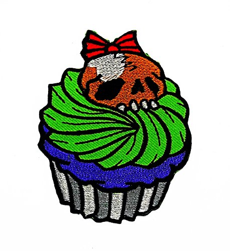 onster Cupcake Sweet Dessert Candy Maker Cartoon Kids Kinder Cute Animal Patch für Heimwerker-Applikation Eisen auf Patch T Shirt Patch Sew Iron on gesticktes Badge Schild Kostüm (Cute Monster-kostüme Für Kinder)
