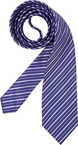 Hugo Boss Herren Krawatte Herren-Accessoire College-Streifen, Größe: Onesize, Farbe: Blau