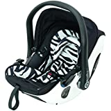 KIDDY Evolution Pro 2Coque bébé, KLF-Compatible KLF-Fonction couchage, Isofix, groupe 0+ (0–13kg, de la naissance à env. 15mois)