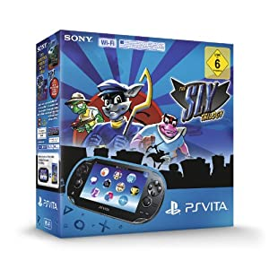 PlayStation Vita Wi-Fi inkl. The Sly Trilogy