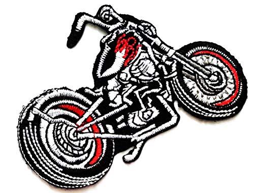 Big Bike Car Classic Motorrad Bike Chopper Cartoon Kinder Studenten Patch Weste/Jacke Biker Biker Biker Tattoo Jacke T-Shirt Aufnäher Aufbügler Aufbügler Badge Jacke Patch-bike