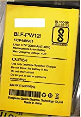G n G BLF-PW12i 2000mAh Mobile Battery for Lephone W7