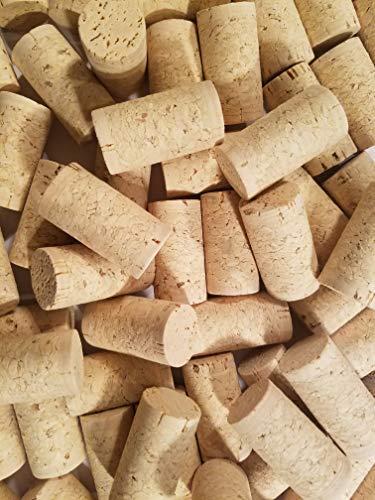 Wein Kork 100neuen Wein Korken-# 9agglomerated natur Kork für corking Home Wine Making Flaschen mit korkverschlussmaschine oder Bulk Craft Korken & Art Supply winecorks.