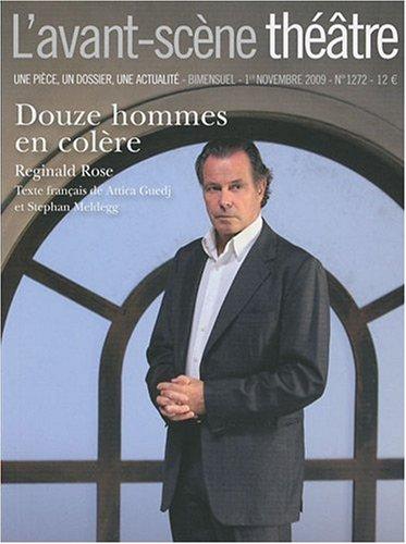 Douze Hommes en Colere ; L'avant-scene theatre n 1272