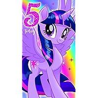 "My Little Pony MP034""Movie Age 5"" Birthday Card"