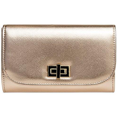 CASPAR Fashion, Poschette giorno donna oro rosa