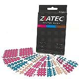 ZiATEC nastri incrociati con 102, 204 e 306 cerotti, nastri reticolari, patch di agopuntura con struttura reticolare, nastro per fisio, colore:Mix - 102 pezzi, dimensione:scatola uni