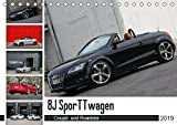 8J SporTTwagen Coupé und Roadster (Tischkalender 2019 DIN A5 quer): TT 8J (Monatskalender, 14 Seiten ) (CALVENDO Mobilitaet)