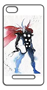 Happoz Thor Painting Mobile Phone Back Panel Printed Fancy Pouches Accessories Z1574