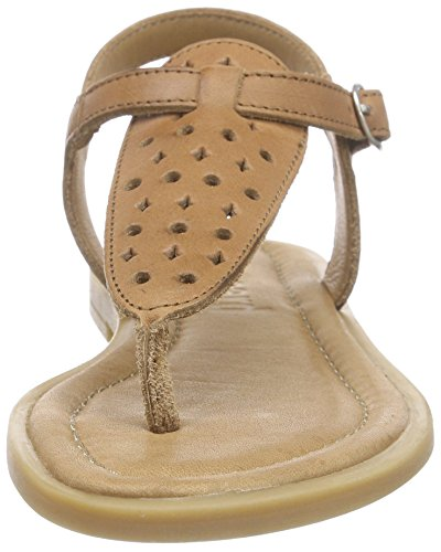Bisgaard Sandals, Sandales ouvertes fille Marron - Braun (48 Nougat)