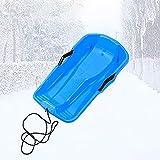 Slittino Bob Slitta in Plastica Mini Freni per Bambini Toddlers Adulti di Alta qualità Slitte Slittini Che Giocano con la Neve Sci da Slittino Sport Sci Sport Invernali Slittino