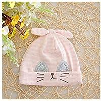 Yyanliii Linda Baby Cat Ear Winter Keep Warm Hat Sombrero Recién Nacido Infant Hadge Cap por 0-4 Meses (Azul)