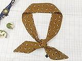 ZLYAYA Schalkragen weiblicher dekorativer Beutel silk Schal wilder gestreifter Streifenschal schlanker schmaler Schal, 010