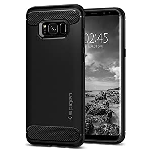 Spigen Rugged Armor Case for Samsung Galaxy S8 - Black 565CS21609