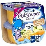 Nestlé p'tit souper crème légumes tendres pâtes 2x200g 12 mois - ( Prix Unitaire ) - Envoi Rapide Et Soignée
