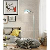 Lámpara de pie Creatividad Personalidad Vertical Lectura Lámpara de pie Coloreado Macaron Lámpara de mesa,D