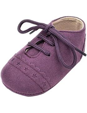 Omiky® Baby Kleinkind Schuhe Sneaker Anti-Rutsch-Soft Sole Schnürschuhe