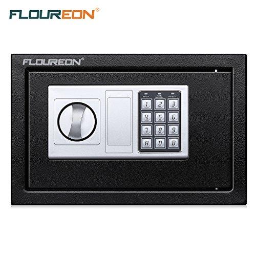FLOUREON Coffre-Fort Electronique avec Serrure à...