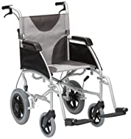 "Drive DeVilbiss Healthcare Ultra Lightweight Enigma Transit Wheelchair with 17"" Seat Width"