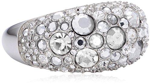 Fossil Damen-Ring Edelstahl Glaskristall weiß Gr.53 (16.9) JF01023040-6.5