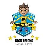 Kick-Tricks Fußball Kartenspiel / Fußball Quartett mit 10 Tricks - Das Original