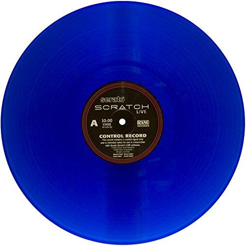 Rane vinylblue Serato Sound Dämpfung Produkt, Vinyl blau -