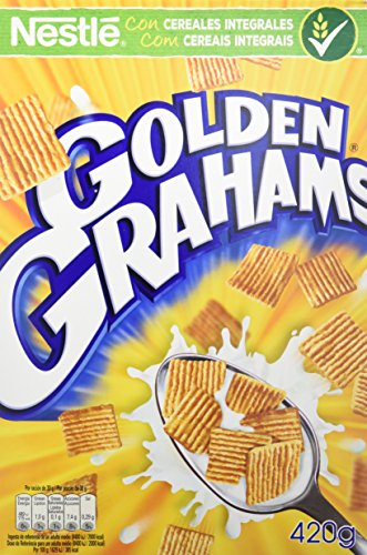 Cereales Nestlé Golden Grahams - Cereales de maíz y trigo tostados