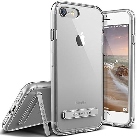 Coque iPhone 7, VRS Design [Crystal Mixx][Transparent] - [Housse de Protection][Slim Case][Kickstand][Anti Scratch Etui][Anti Chocs Case][Military Grade Protection] Pour Apple iPhone 7