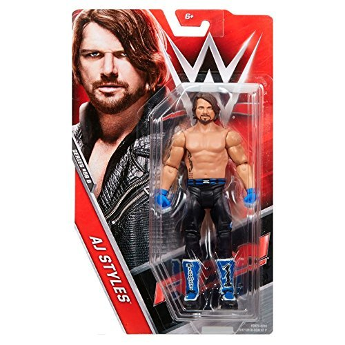 WWE AJ Styles 'The Phenomenal One' Basic Series 68.5 Wrestling Action Figure