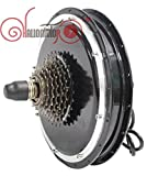 Electric Bicycle 36V 48V 750W Brushless Gearless Rear Wheel Hub Motor High Speed with Speed Gear E Bike Scooter Part