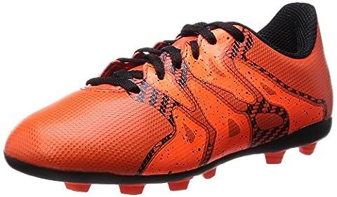 adidas Performance X15.4 FxG, Jungen Fußballschuhe, Rot (Bold Orange/Ftwr White/Solar