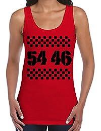 54 46 Was My Number Ska Women's Vest Tank Top